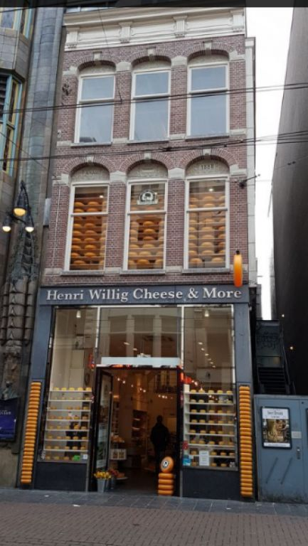 shopping per le vie amsterdam