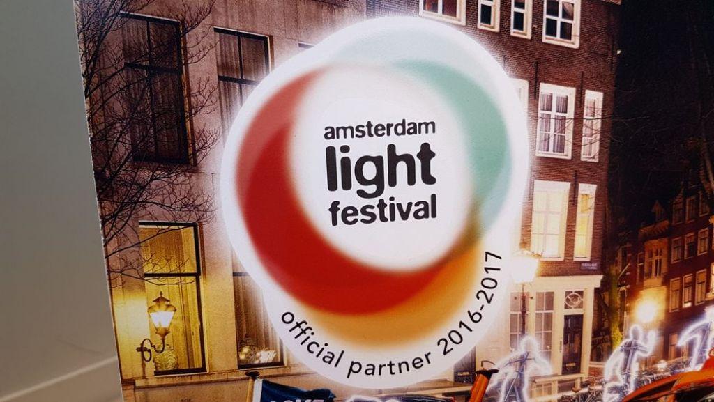 il festival delle luci di amsterdam