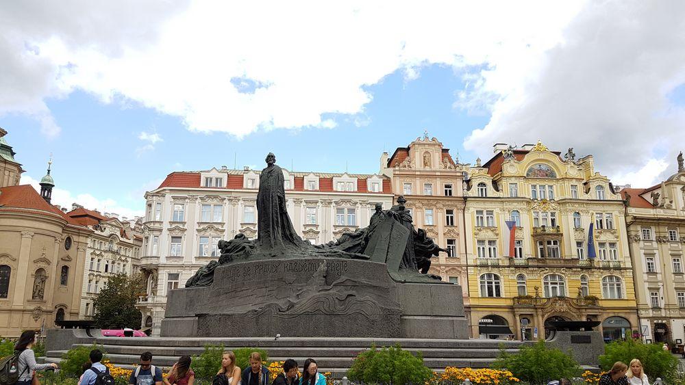 il centro di Praga