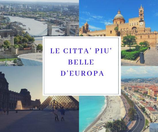 le città più belle d'europa