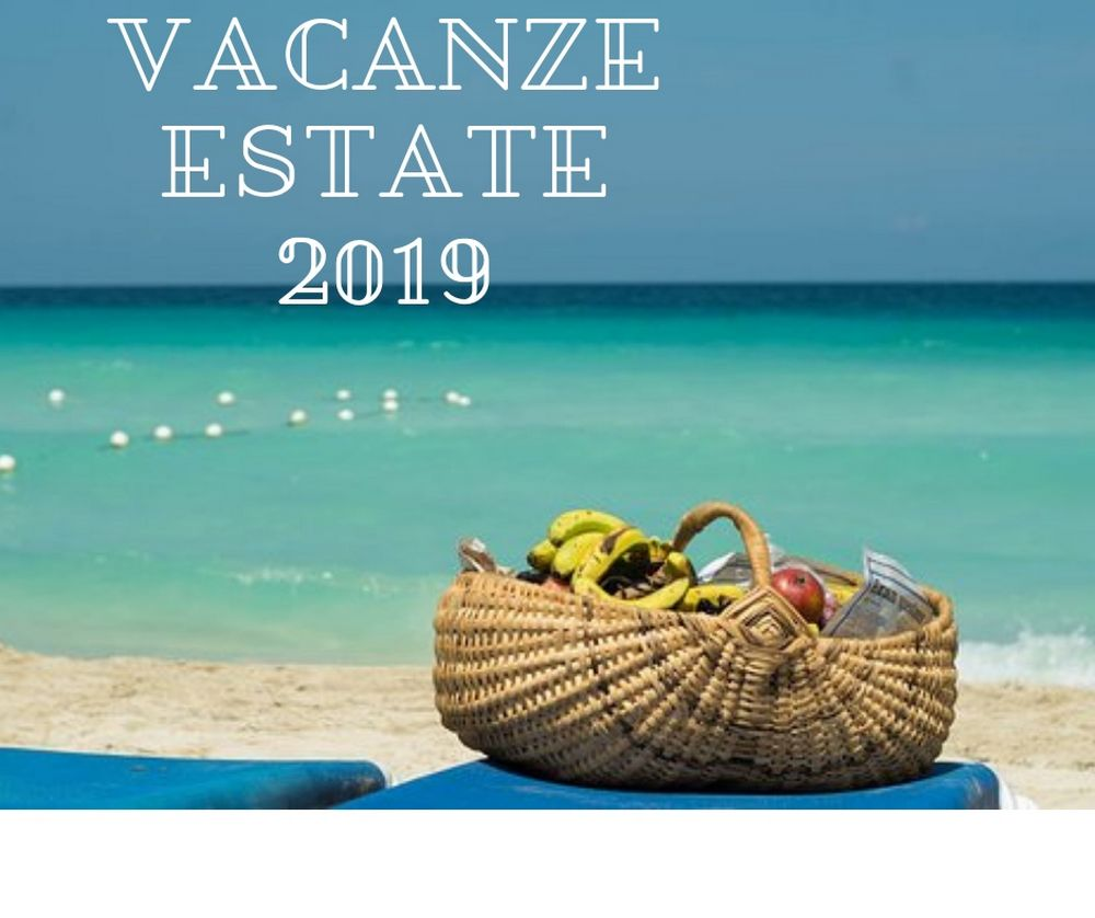 vacanze estate 2019